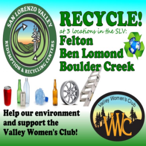Recycling Centers Get Busy :: Valley Women's Club of San Lorenzo Valley