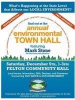 Felton Community Hall, Environmental Meeting
