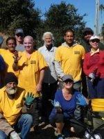 San Lorenzo River Estuary Project volunteers
