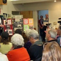 Mark Stone at the 2018 Environmental Town Hall