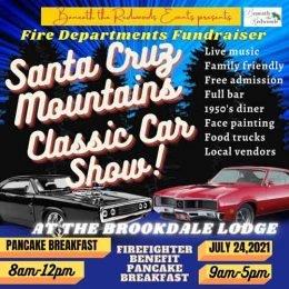 Santa Cruz Mountains Classic Car Show